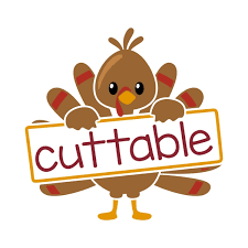 thanksgiving turkey monogram svg cuttables