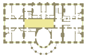 second floor center hall white house wikiwand