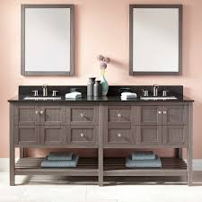 Double Vanity For Small Bathroom by Gray Undermount Sink Vanity Signature Hardware