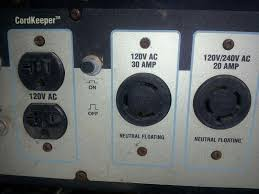 which generator outlet plug s to use the radioreference com forums