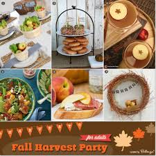 it s a fall harvest themed birthday for adults