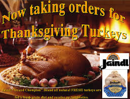 now taking orders for thanksgiving turkeys foresta s market