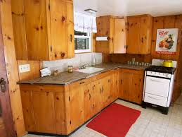 Contemporary Kitchen Cabinets For Sale by Best 25 Knotty Pine Cabinets Ideas On Pinterest Pine Kitchen