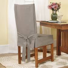 fit short dining chair slipcover