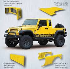 jeep truck conversion jeep wrangler jk 8 pickup conversion kit normandin chrysler dodge