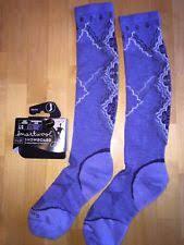 smartwool phd ski light pattern socks smartwool phd ski light pattern socks for women large white ebay