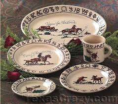 buy cowboy dinner plates by true west free shipping