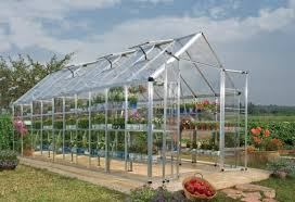 Hobby Greenhouses Palram Snap U0026 Grow 8 Ft W X 20 Ft D Greenhouse Wayfair