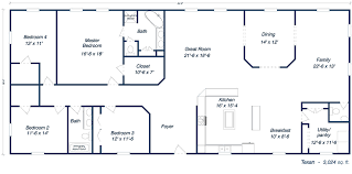Floor Plan For Residential House Metal Building Homes For Sale