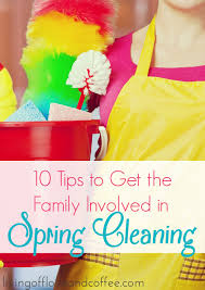 springcleaning 10 tips to get the family involved in spring cleaning