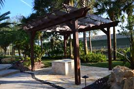 Building A Pergola On Concrete by Pergola Design Ideas Pergola With Fire Pit Stunning Construction