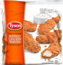 Gazebo Dressing Chicken by Tyson Fully Cooked Buffalo Chicken Tenders 3 5 Lbs Bj U0027s