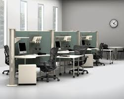 workstation desk laminate contemporary commercial resolve
