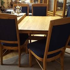 Ethan Allen Queen Anne Dining Chairs Ethan Allen Queen Anne Table Including Six Chairs And Two Leaves