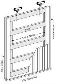 Barn Door Hardware Installation Elegant Barn Door Design Plans With Designing Building And