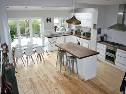 Open Floor Plan Kitchen Family Room by Kitchen Kitchen Peninsula Opens To Family Room Large Open Plan