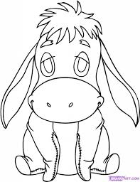 cartoon drawing disney baby tigger coloring pages how to draw