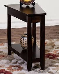 Chair Side Table with Best 25 Wedge End Table Ideas On Pinterest Triangle End Table