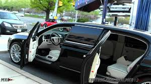 bentley mulsanne custom interior bentley continental flying spur limousine youtube