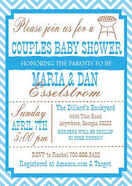 coed baby shower co ed baby shower invitation paperinvite