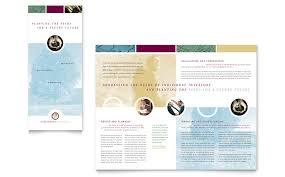 tri fold brochure publisher template financial consulting tri fold brochure template word publisher
