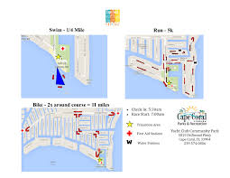 Where Is Cape Coral Florida On The Map by Cape Coral Yacht Club Sprint Triathlon 2017 Cape Coral Fl 2017