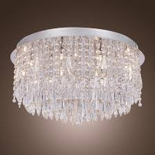 Crystal Ceiling Mount Light Fixture by 52 Best Lighting Inspiration Images On Pinterest Crystal