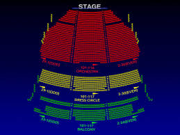 lyric theatre broadway seating chart broadway scene
