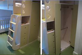 Loft Bed With Crib Underneath Bunk Bed With Crib Underneath Popular Bunk Bed With Crib