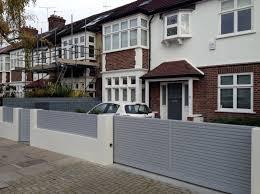 modern garden design clapham london blog hardwood deck screen