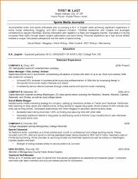 Career Focus Examples For Resume by 10 Examples Of College Resumes Resume Reference