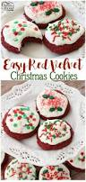 easy red velvet christmas cookies making red velvet cookies has