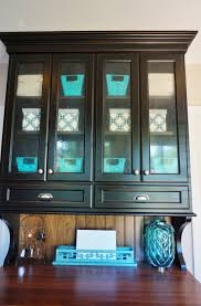 glass front cabinet organizing before and after heartworkorg com