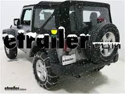 Off Road Tire Chains Titan Chain Snow Tire Chains With Tensioners Installation 2016