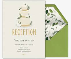 reception invitation welcome reception free online invitations