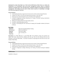 Can Resumes Be Front And Back Resume