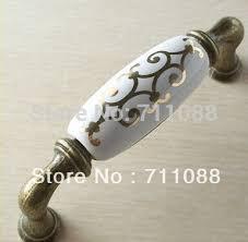 Porcelain Knobs For Kitchen Cabinets 160mm Ceramic Knobs Pulls Decorative Kitchen Cabinet Hardware