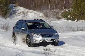 gray subaru crosstrek review 2015 subaru crosstrek a snow warrior built for adventure