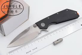 tactical kitchen knives aliexpress com buy jufule mt doc folding knife d2 blade g10