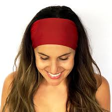 burgundy headband true original collection
