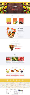 fruit gifts fruit baskets shopify theme