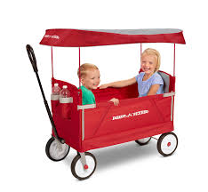 Radio Flyer Wagons Used How To Tell Age 3 In 1 Ez Fold Wagon With Canopy