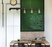 Diy Industrial Chandelier Dining Room Diy Ideas Dining Room Transitional With My Houzz