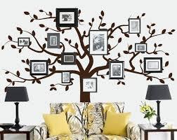 beautiful family tree wall decal ideas home designing living room family tree wall decal
