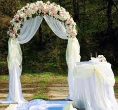 wedding arches using tulle arch wedding decorations wedding corners