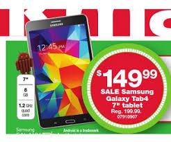 samsung tablet black friday samsung galaxy tab4 7inch tablet deal at kmart black friday is 149 99