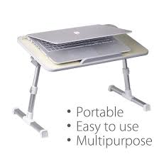 Laptop Bed Desk Tray Avantree Minitable Quality Adjustable Laptop Bed Tray Portable
