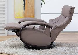 himolla mosel zerostress integrated recliner leather chair 8533 28s