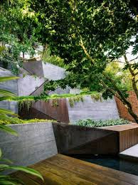 quiet corner sloping garden design ideas quiet corner