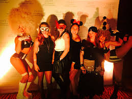california san francisco clift hotel halloween party 2014